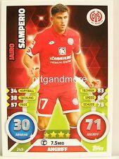Match Attax 2016/17 Bundesliga - #249 Jairo Samperio - 1. FSV Mainz 05