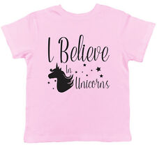I Believe in Unicorns Childrens Kids Boys Girls T-Shirt