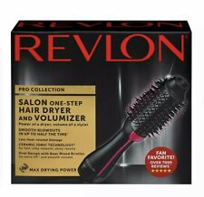 Revlon PRO COLLECTION One Step Hair Dryer & Volumizer Hot Air Brush RVDR5222 NEW
