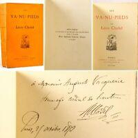 🌓 EO Léon CLADEL Les Va-Nu-Pieds Lemerre 1873 envoi autographe Commune de Paris