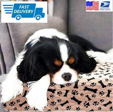 Waterproof Reusable Dog Pet Bed Mats Dog Urine Rug Puppy Pee Fast Absorbing Pad