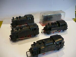 lot 4 locomotives jouef 708.jouef.jouef.locomotive.train electrique.