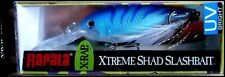 VERY RARE RAPALA X RAP SHAD XRS 6 cm SPECIAL BLU color