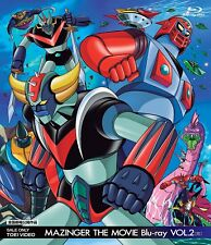 MAZINGER THE MOVIE Blu-ray VOL.2  - Japanese original Blu-ray