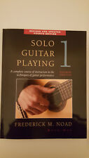 Frederick M. Noad:Solo Guitar Playing Volume 1 - 4th Ed., Lehrmaterial für Git