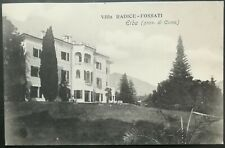 1909 - Erba - Villa radice - Fossati