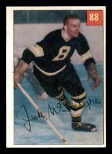 JACK McINTYRE 54-55 PARKHURST 1954-55 NO 88 PRENIUM BACK VG+ 15449