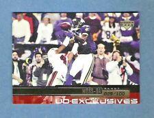 1999 RANDY MOSS Upper Deck Exclusives Silver SP #29/100 MN Vikings