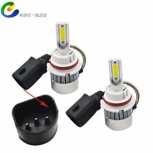 6000K Super White LED Headlight Bulbs High Low Beam Conversion Kit 9007 HB5 9004