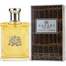 RALPH LAUREN SAFARI FOR MEN 125ML EAU DE TOILETTE SPRAY NEW & SEALED