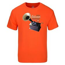"""Spin Alley """"The Icons"""" Edison Standard Phonograph T-Shirt - Various Sizes"""