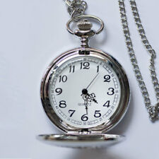 Polished Pocket Watch Men Women Quartz Retro Vintage Steampunk Gift with Chain