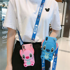 3D Stitch Wallet Airpod Purse Phone Case For iPhone 12 11 Samsung S20 Huawei P40