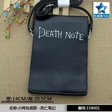 Flap Crossbody Satchel/PU Single Handbag/Mini Shoulder Bag of Anime Death Note
