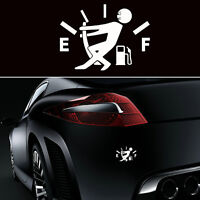 1x JDM Funny Pull Fuel Tank Pointer To Full Hellaflush Vinyl Car Sticker Decal