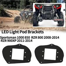 Pair For Polaris Sportsman 1000 850 570 RZR 800 LED Headlight Mounting Bracket