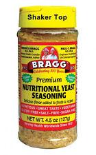 Premium Nutritional Yeast Seasoning 4.5 oz (127 g), Bragg