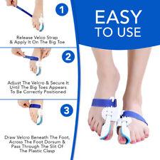 Orthopedic Bunion Corrector Hallux Valgus Toe Straightener Bunion Relief UK