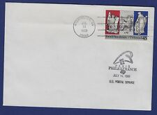 Ad60* Enveloppe Philatélique (Cachet Washington) 1986 FRENCH REVOLUTION