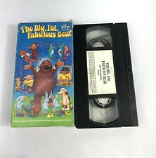 THE BIG, FAT, FABULOUS BEAR (vhs) Animated. VG Cond. Just For Kids. Rare cartoon