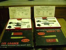 Vintage Lee Loaders 38 special, 357, 264 win mag, 30/06