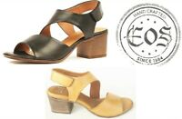 New Eos Shoes Portugal Comfort mid heel leather Sandals EOS Footwear Starlit