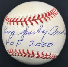George Sparky Anderson HOF 2000 Signed Baseball JSA