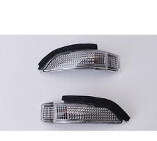 Car Rear-view Turn Mirror White LED Light Lamp For Toyota Camry Corolla Yaris