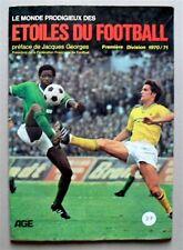 Album Le Monde prodigieux des Étoiles du football 1970-71 COMPLET
