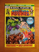 MARVEL FEATURE: DEFENDERS #2 1971, Insanely-Bright & Colorful (NM/9.4) Gorgeous!