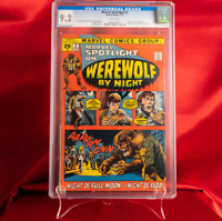 CGC 9.2 Marvel Spotlight #2 1st Appearance Werewolf By Night WHITE PAGES Horror