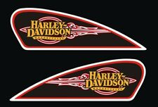 Kit Adesivi HARLEY DAVIDSON serbatoio vintage PVC stickers tank custom logo