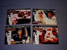 Original SCARFACE Lobby Card Set from Turkey Al Pacino
