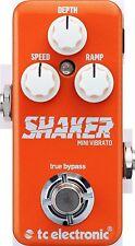 New TC Electronic Shaker Mini Vibrato Guitar Effects Pedal!