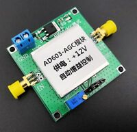 AD603 Adjustable Gain amplifier DA input Programmable AGC Module