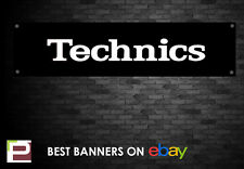 TECHNICS Banner, per studio, garage, negozi, club, 1210 Turn Table ecc.