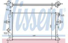 NISSENS Radiador, refrigeración del motor OPEL ASTRA ZAFIRA VAUXHALL 630041