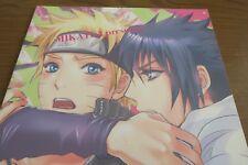 NARUTO yaoi doujinshi Sasuke X Naruto (B5 30pages) Mikayla Fudeoroshi Mikaira