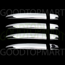 FOR TOYOTA SIENNA 05-12 CHROME 4 DOORS HANDLES COVERS W/OUT SMART KEYHOLE