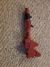 Vintage Toy Part - TRANSFORMERS - METROPLEX RED CANNON GUN - G1 Accessory