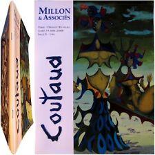Lucien Coutaud peintures dessins tapisserie 2008 catalogue Millon Meynes