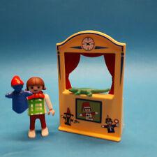 Playmobil 4664 Mädchen mit Puppentheater Special komplett (M-0710) Stadtleben