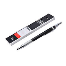 2mm 2B Lead Holder Automatic Mechanical Drawing Drafting Pencil 12 Lead Refill