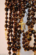Rosary Beads Prayer Rope With Small Beads 50 Knots Metal Cross broyanitsa