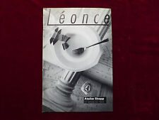Mode & Lifestyle - Zeitschrift, Léonce, Berlin-Magazin 1/93, schwazweiß