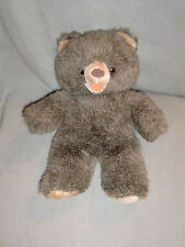 "APPLAUSE STUFFED PLUSH TEDDY BEAR ADDISON JR # 8586 11"" BROWN OPEN MOUTH"