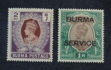 Ckstamps: Gb Stamps Collection Burma Scott#31 O11 Mint H Og