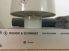 R&S Rohde Schwarz ED167MP GPS Receiver Frequency Standard GPSDO OCXO Oscillator