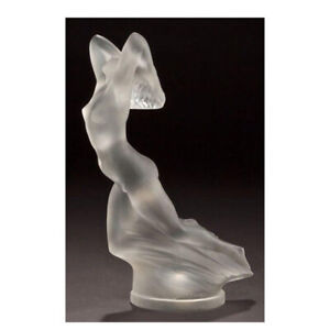 GENUINE LALIQUE Vitesse Paperweight Clear Crystal 10066400 FREE DELIVERY