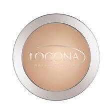 LOGONA Face Powder 0.352oz,10g Organic Makeup Face Color: 02 Medium Beige #11942